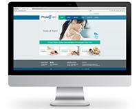 Physiowest - Logo, Website + Stationery
