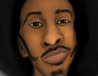 Ludacris Caricature