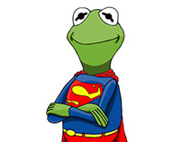 Kermit the Superman