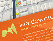 Live Downtown Grand Rapids Website