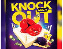 Knockout Boxing Flyer