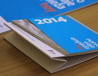 CALENDARIO Y PLANNER 2014 LAP (Lima Airport Partners)