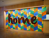 """Home"" Collaborative Installation"