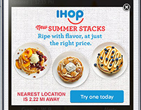 IHOP | Summer Digital Promotion