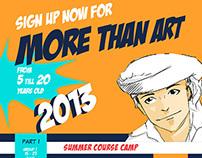 More Than Art (summer camp 2013)