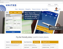 United Airlines Redesign Concept