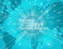 Turkish Airlines The Eye Network Map