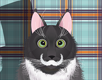 HAMILTON HIPSTER CAT