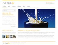 Vilisya - Minimalist Business Template 3