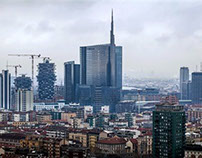 The new vertical Milan, waiting for the Expo 2015