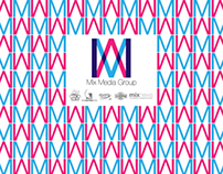 Mix media group logo development