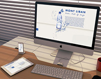 Mont Liban Water Company, website design