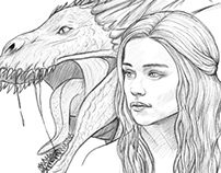 Game of Thrones drawings/illustrations