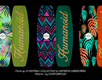 PATTERN DESIGN for HUMANOID WAKEBOARDS