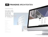 JO FRANZKE // WEBSITE