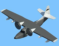 Grumman HU-16 A (Expendables) Plane Revit Family