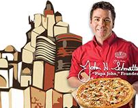 Web design for PAPA JOHN'S PIZZA