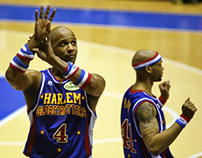 Harlem Globetrotters Photo Report