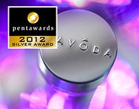 Cavoda Vodka, designed by Linea