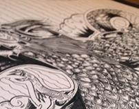 Hand-Drawn Stuff - Sketchbook