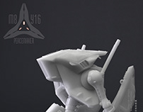 AEG27 Peacemaker Model Kit