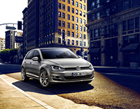 VW Golf 7 Campaign and Catalogue Look and Shooting