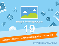 19 Image Format Icons