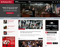 The Washington Times Web Re-Design