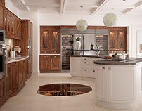CG Imagery - Handmade Kitchens
