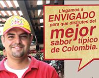 Doña Lechona / Campaña domicilios envigado 2013