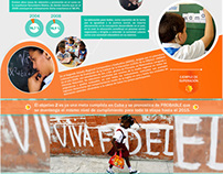 Infographics on the Millennium Development - Cuba