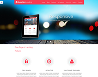 Sapphire - One Page Wordpress Template