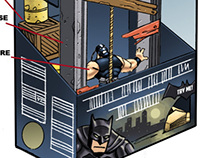 Dark Knight Rises Playsets