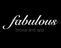 Fabulous Brows and Spa Brand Identity