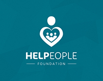 "Progettazione Identity ""Helpeople Foundation"""