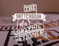 The sketchbook of a graphic designer