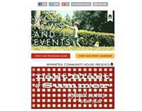 Winnetka Community House Email Newsletter