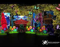 Design stage show Carnaval Uruguay