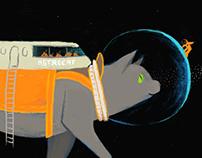 The adventurous adventures of Astrocat & friends