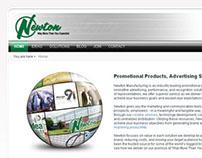Newton Mfg Corporate Website, 2010