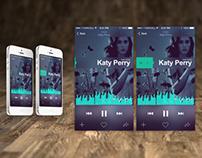 iOS7 - Music App Concept