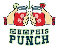 Memphis Punch Food Truck Branding