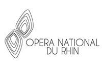 OPERA NATIONAL DU RHIN, STRASBOURG - LOGOTYPE