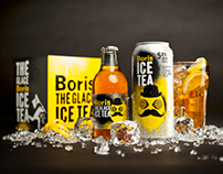 Boris ice tea | Packaging