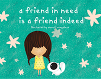 A Friend In Need Is A Friend Indeed - Illustration