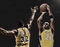 Legends Collide: Kobe Bryant vs. Magic Johnson