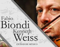 Fabio Biondi en la Ciudad de México
