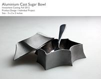 Aluminium Cast Sugar Bowl
