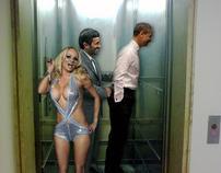 Obama,Ahmadinejad and Pam.