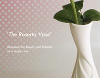 The Rosetta Vase